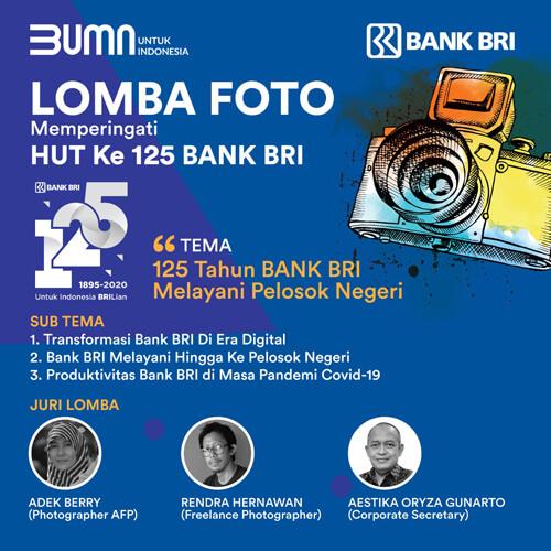 Lomba Foto Bank BRI